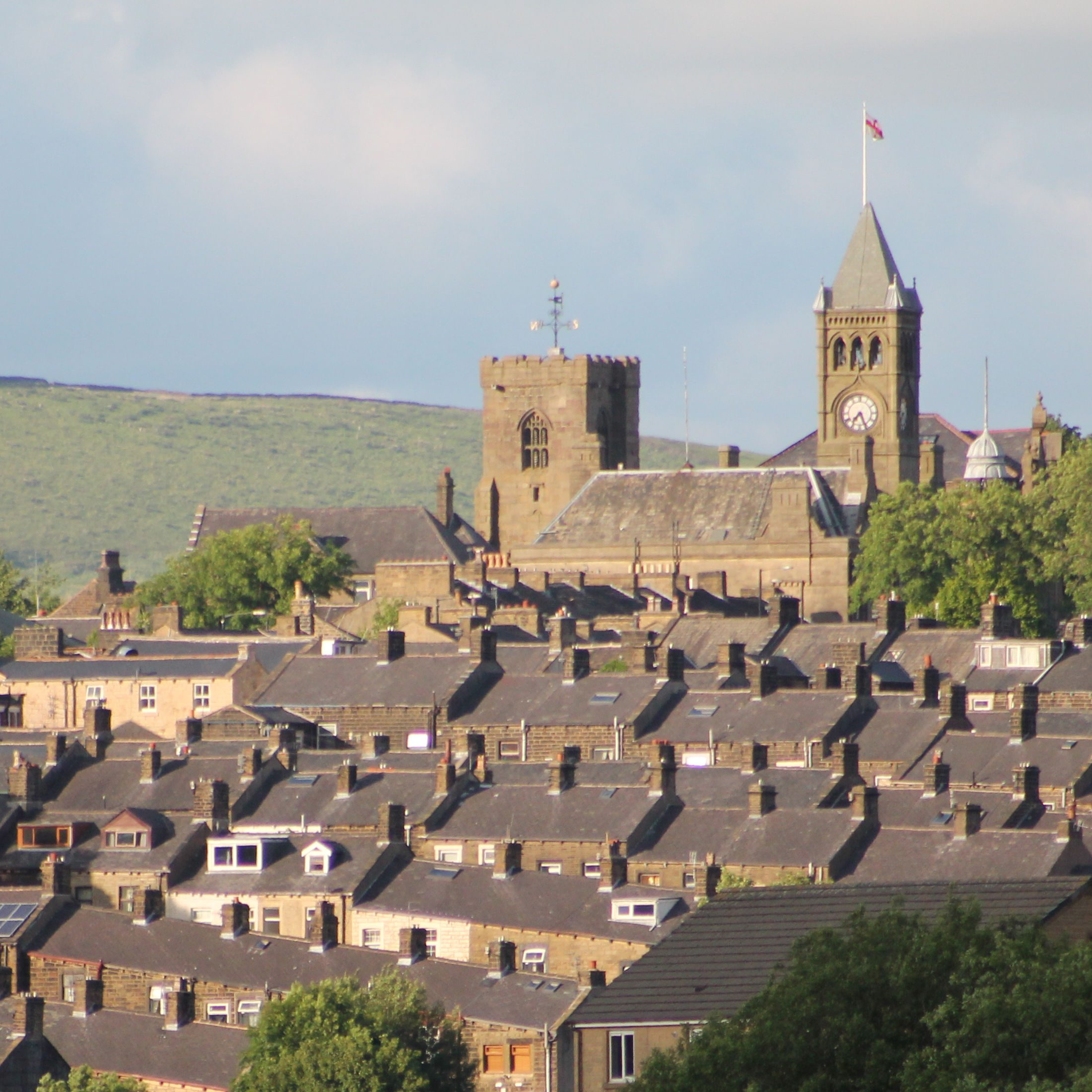 Rooftops of Colne